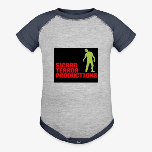 Sicard Terror Productions Merchandise - Baseball Baby Bodysuit