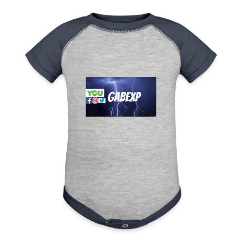 gabexp 1 - Contrast Baby Bodysuit