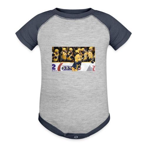 subban pk 2 - Baseball Baby Bodysuit
