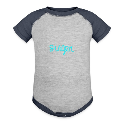 SINGER - Contrast Baby Bodysuit