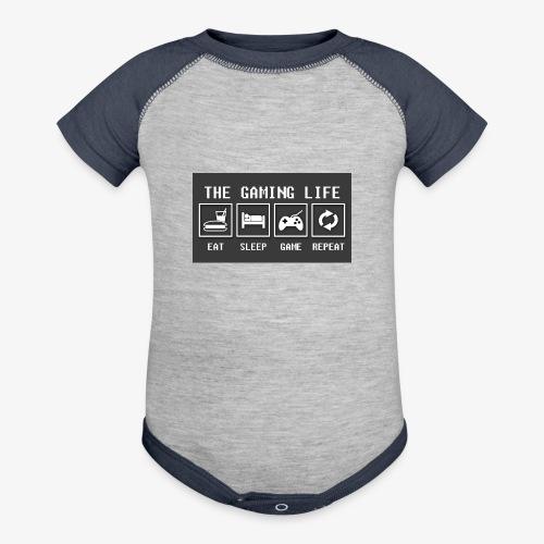 Gaming is life - Baseball Baby Bodysuit