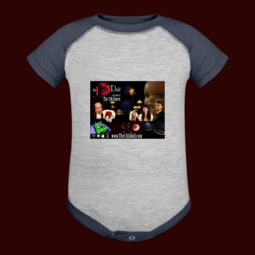 The 13th Doll Cast and Puzzles - Baseball Baby Bodysuit