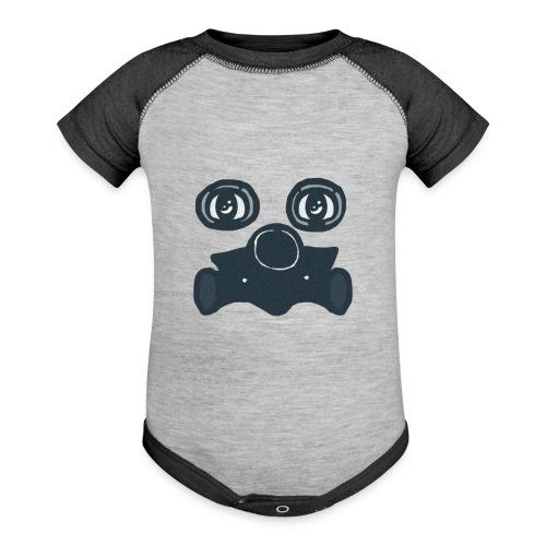 Toxic - Contrast Baby Bodysuit