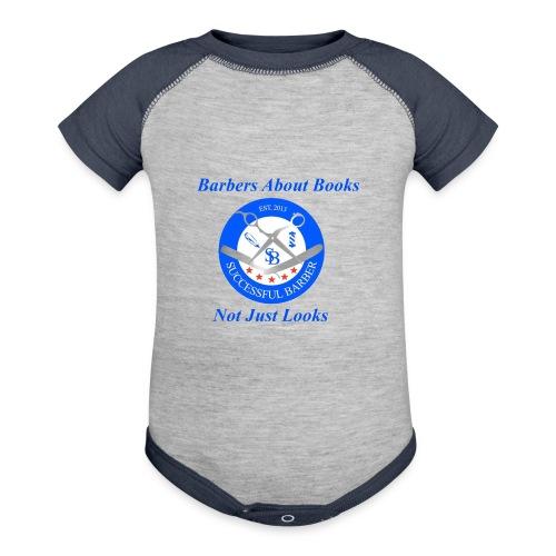 Barbershop Books - Contrast Baby Bodysuit