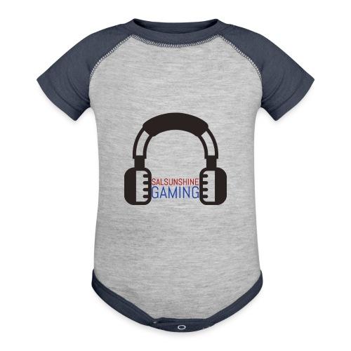 SALSUNSHINE GAMING LOGO - Contrast Baby Bodysuit