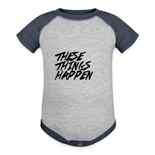 These Things Happen Vol. 2 - Contrast Baby Bodysuit