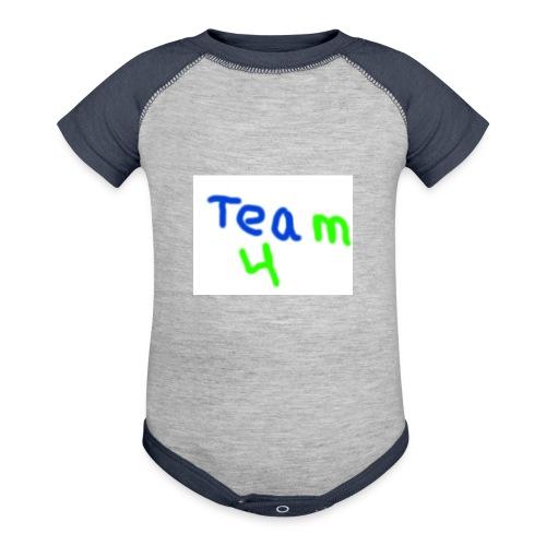 logo - Contrast Baby Bodysuit