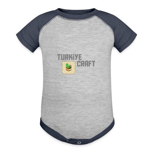 TurkiyeCraft Logo - Baseball Baby Bodysuit