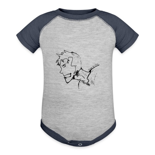 Design by Daka - Baseball Baby Bodysuit