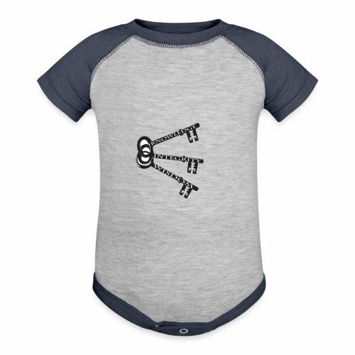 KEYS TO LIFE - Contrast Baby Bodysuit