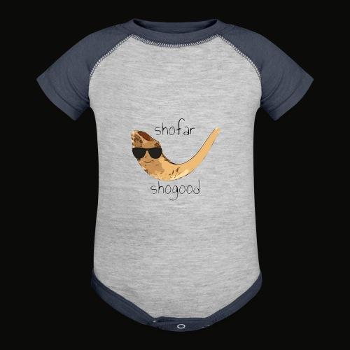 shofar, shogood - Contrast Baby Bodysuit