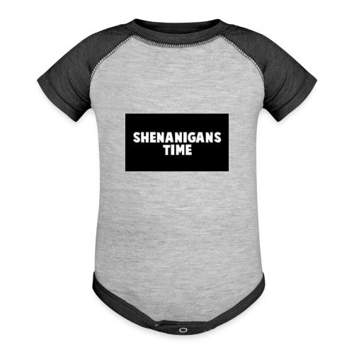 SHENANIGANS TIME MERCH - Baseball Baby Bodysuit