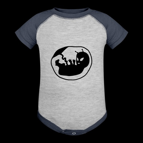 Alien Fetus by bmx3r - Baseball Baby Bodysuit