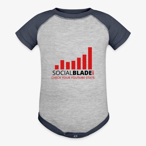 Traditional Logo Tagline - Baseball Baby Bodysuit