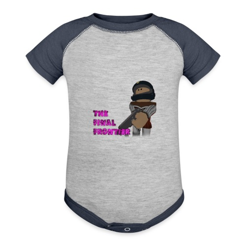 The Final Frontier - Baseball Baby Bodysuit