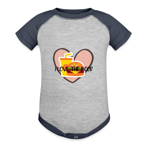 Food - Contrast Baby Bodysuit