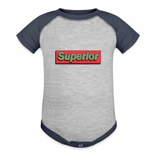 Superior - Contrast Baby Bodysuit