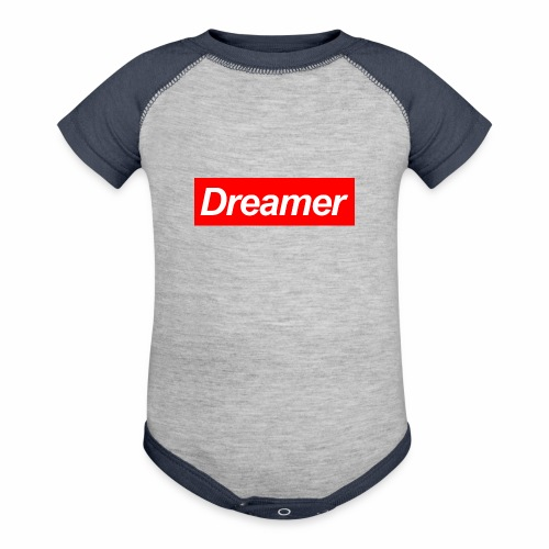 Dreamer - Contrast Baby Bodysuit