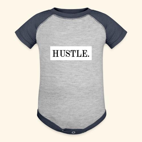 Hustle - Contrast Baby Bodysuit