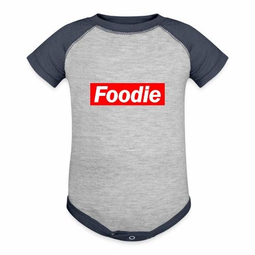 Foodie - Contrast Baby Bodysuit