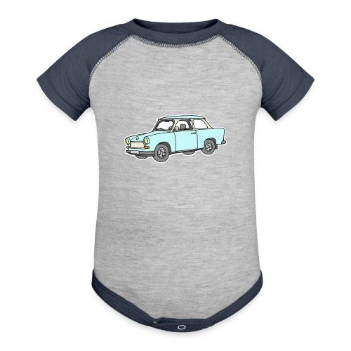 Trabant (lightblue) - Baseball Baby Bodysuit
