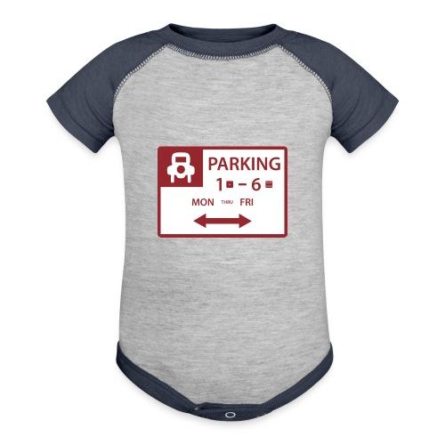 Free Parking - Contrast Baby Bodysuit
