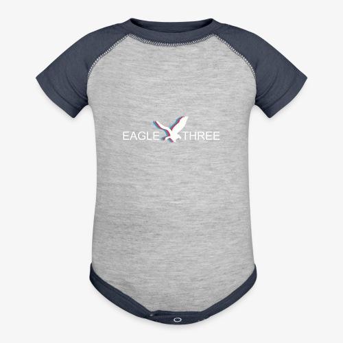 EAGLE THREE APPAREL - Contrast Baby Bodysuit