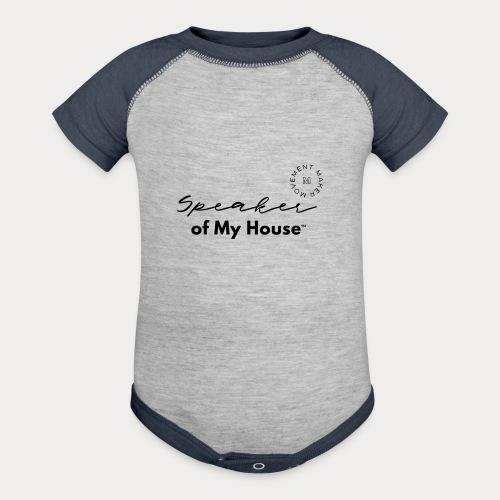 Speaker of My House - Baseball Baby Bodysuit