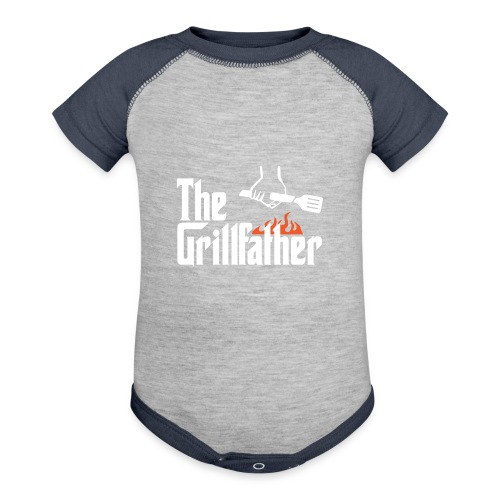 The Grillfather - Contrast Baby Bodysuit