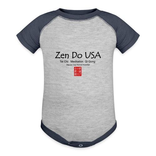 Zen Do USA - Contrast Baby Bodysuit