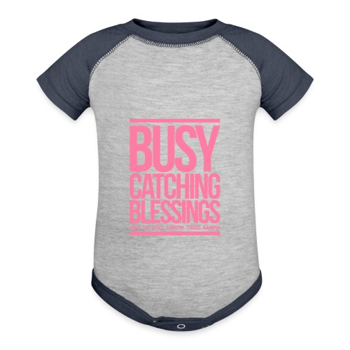 Busy Catching Blessings - Baby Contrast One Piece