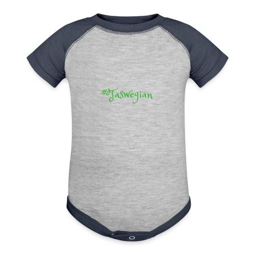Taswegian Green - Baseball Baby Bodysuit
