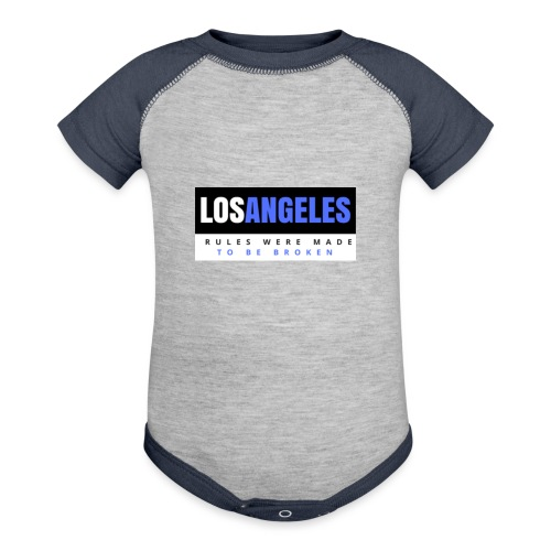 LOS ANGELES - Baseball Baby Bodysuit