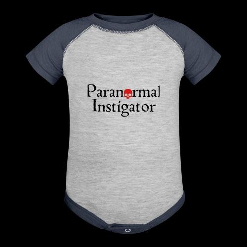 Paranormal Instigator - Baseball Baby Bodysuit