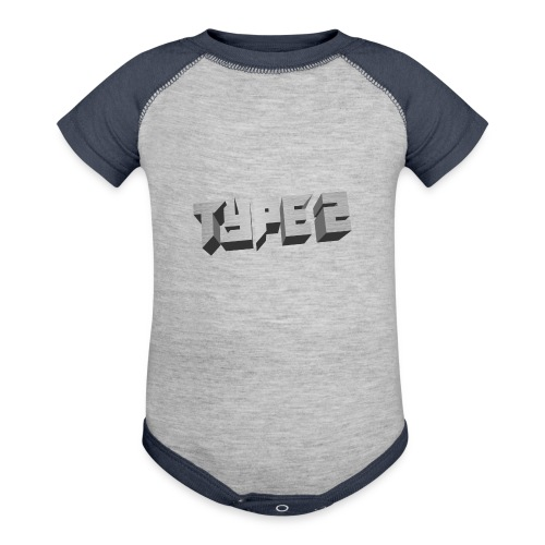 Type 2 - Contrast Baby Bodysuit
