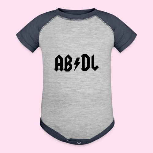 ABDL Rock - Baseball Baby Bodysuit