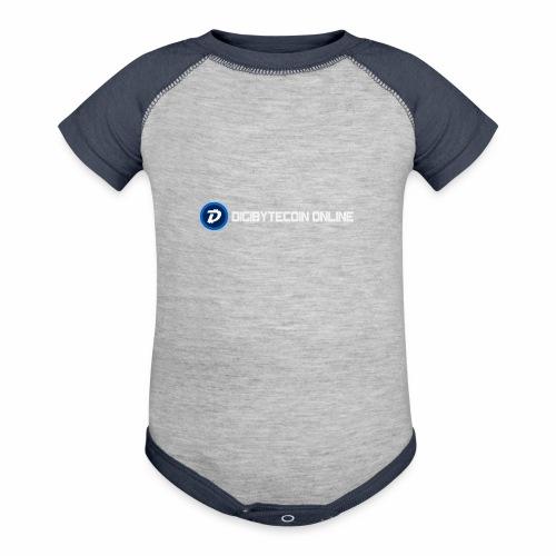 Digibyte online light - Contrast Baby Bodysuit
