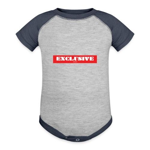 exclusive - Contrast Baby Bodysuit