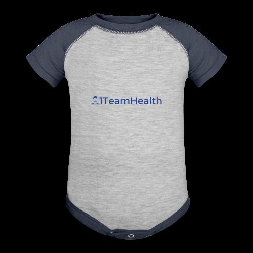 1TeamHealth Simple - Contrast Baby Bodysuit