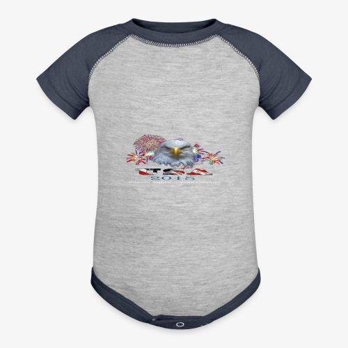 USA EAGLE 2018 - Baseball Baby Bodysuit