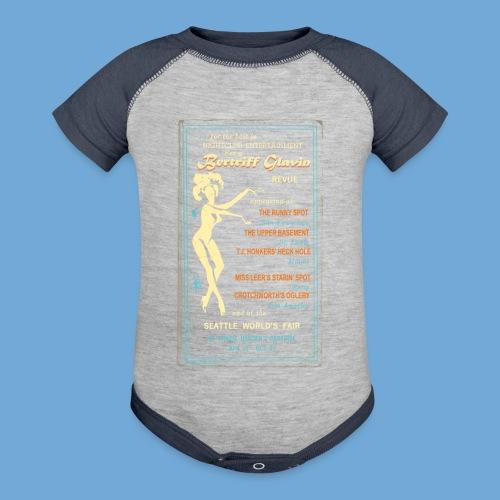 Bertriff Glavin - Color - Contrast Baby Bodysuit
