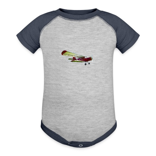 Airplane - Baby Contrast One Piece