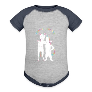 Cat Unicorn Unicorn Cat Magical Friends - Baby Contrast One Piece