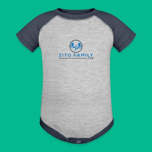 Zito Twins Shop - Baseball Baby Bodysuit