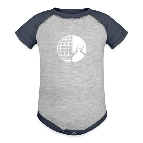 DMI Logo White - Baseball Baby Bodysuit