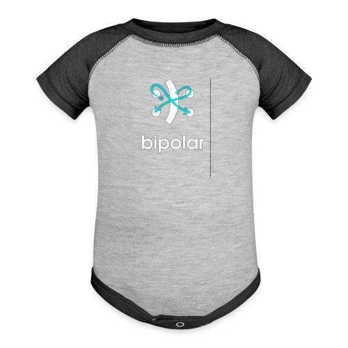 bipolar - Baseball Baby Bodysuit