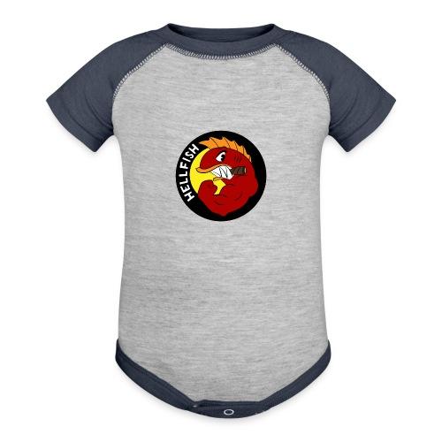 Hellfish - Flying Hellfish - Baseball Baby Bodysuit