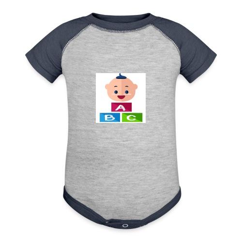 baby - Contrast Baby Bodysuit