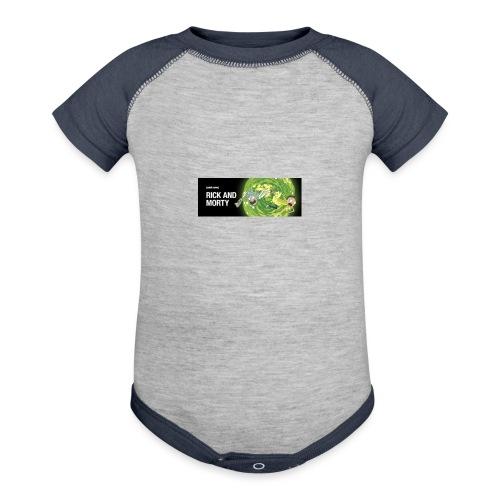 flippy - Baseball Baby Bodysuit