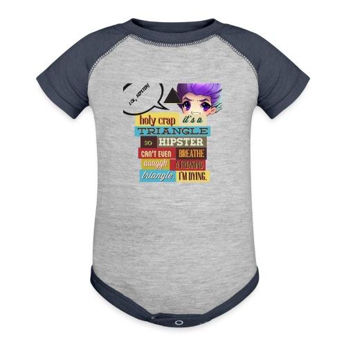 HIPSTER - Baseball Baby Bodysuit